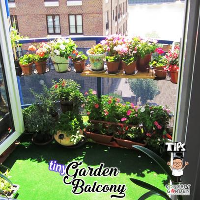 Let's Design A Tiny Balcony