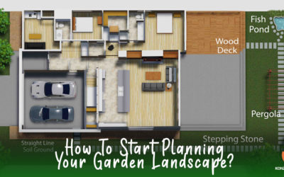 HOW TO START DESIGNING YOUR FIRST GARDEN LANDSCAPE?